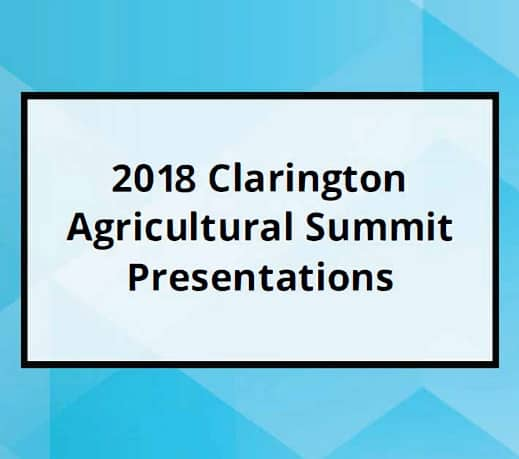 2018 Agricultural Summit
