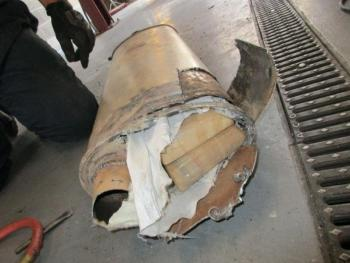 CBP officers at the San Ysidro port of entry extracted 8 packages of fentanyl weighing 18 pounds from a vehicle muffler.