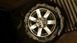 Marijuana hidden in spare tire