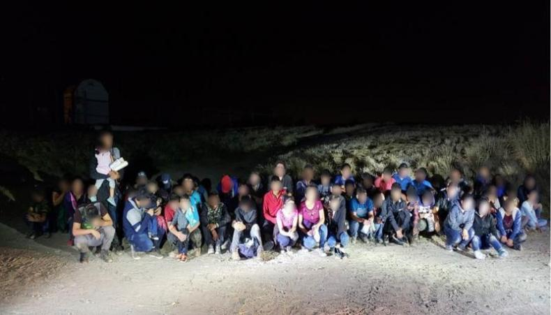Weslaco agents apprehend group of 60 aliens