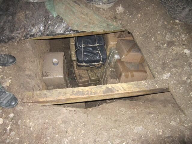 Bunker discovered by Border Patrol Agents
