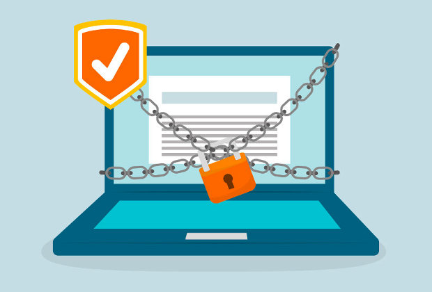 Company website security measures
