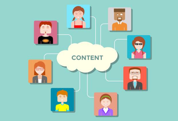 Cloud content