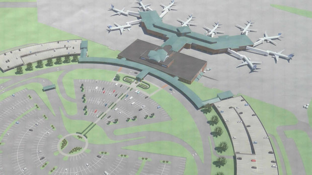 ilmThe Wilmington Airport Authority will look at expansion costs Wednesday night. (Source_ WECT)_331221