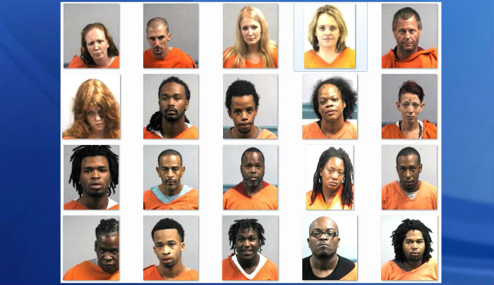 30 arrested in Wayne County as officers combine forces in