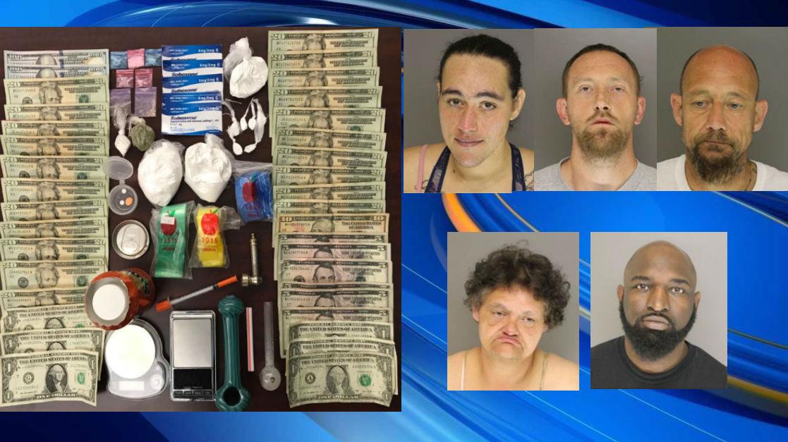 5 nabbed in Moore County drug bust, deputies say