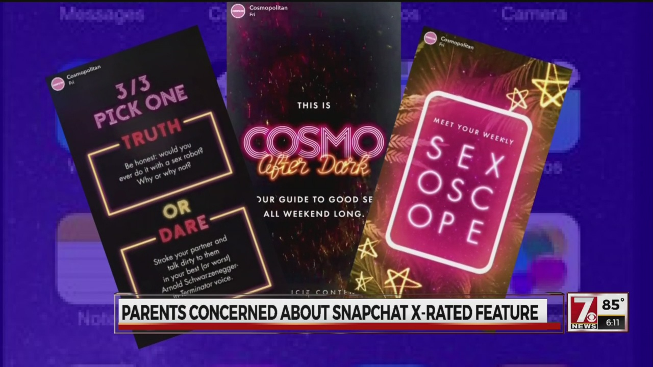 Snapchat's new Cosmo After Dark channel-846624087