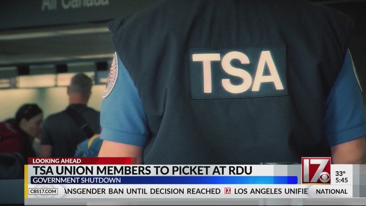 TSA_union_members_to_picket_at_RDU_0_20190123111103