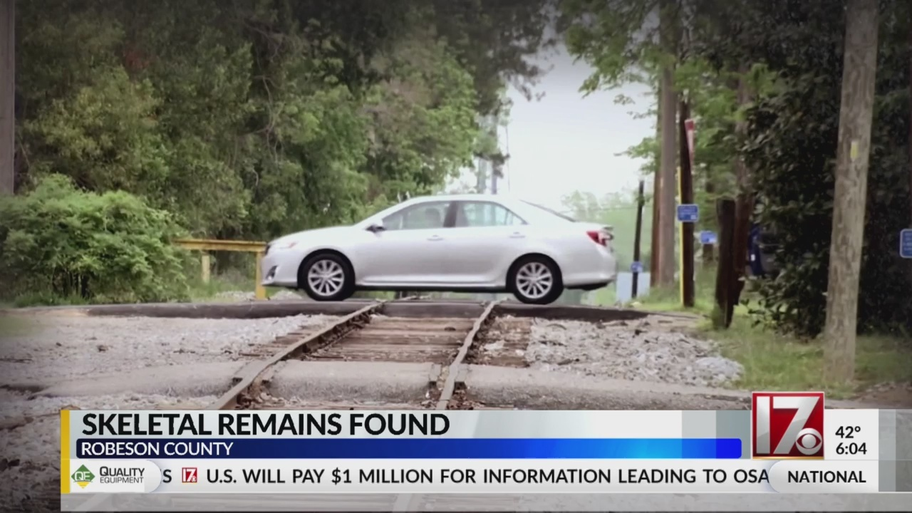 Skeletal remains found in Robeson County