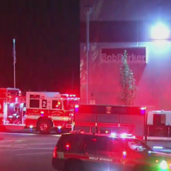 Fire at Fuquay-Varina business prompts large response | CBS 17