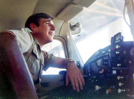 Waldrup - David Waldrup Flight Training 1969 Dallas