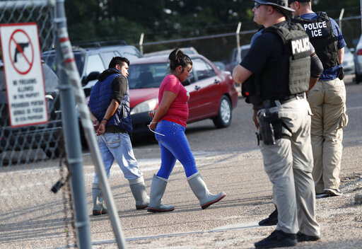 Largest US immigration raids in a decade net 680 arrests – CBS 17 com