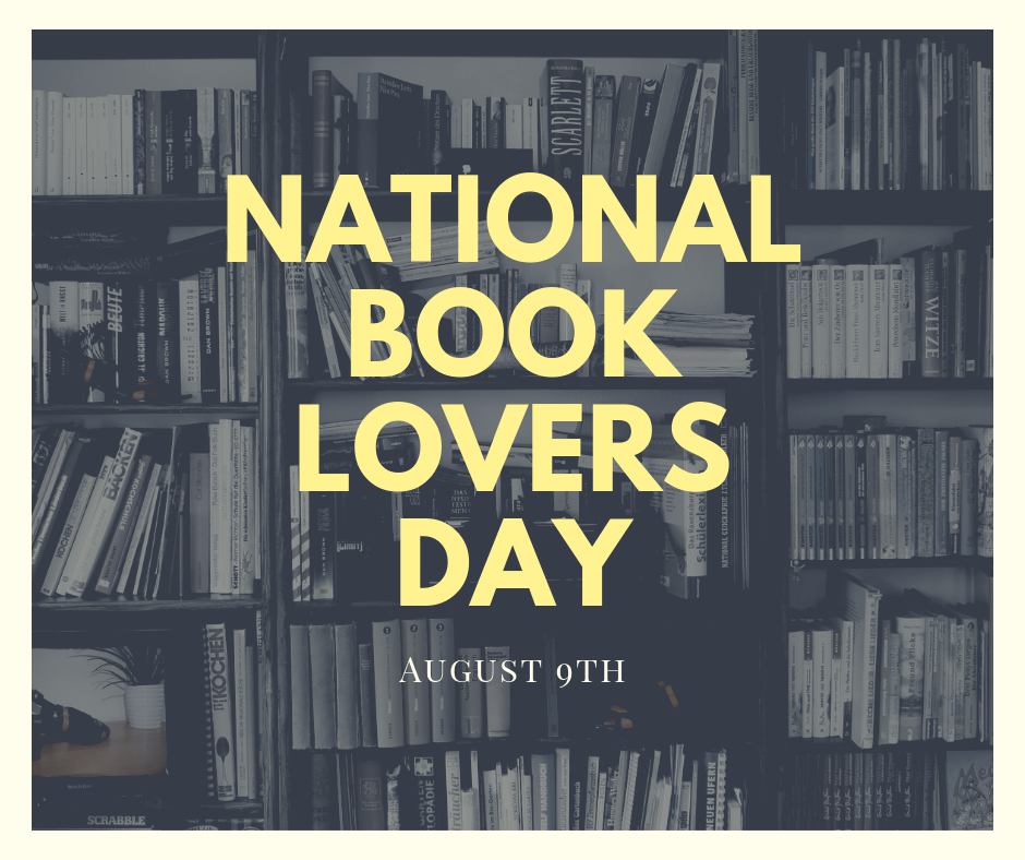 August 9th is National Book Lovers Day! | CBS 17