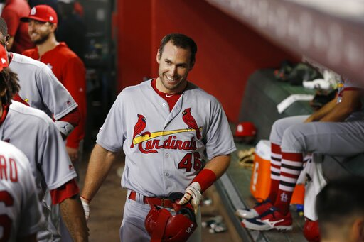check out 781fc 0df16 Goldschmidt hits HR in Arizona return, Cards top D-backs 9-7 ...
