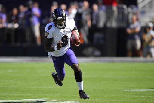 online retailer 70fc0 46b44 Lamar Jackson helps Ravens run past Cardinals 23-17 – CBS17.com