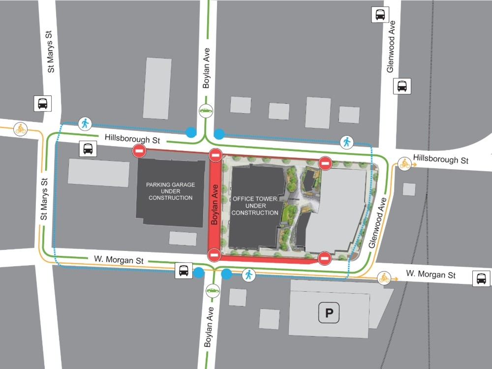 Section of major downtown Raleigh street to close for more ...
