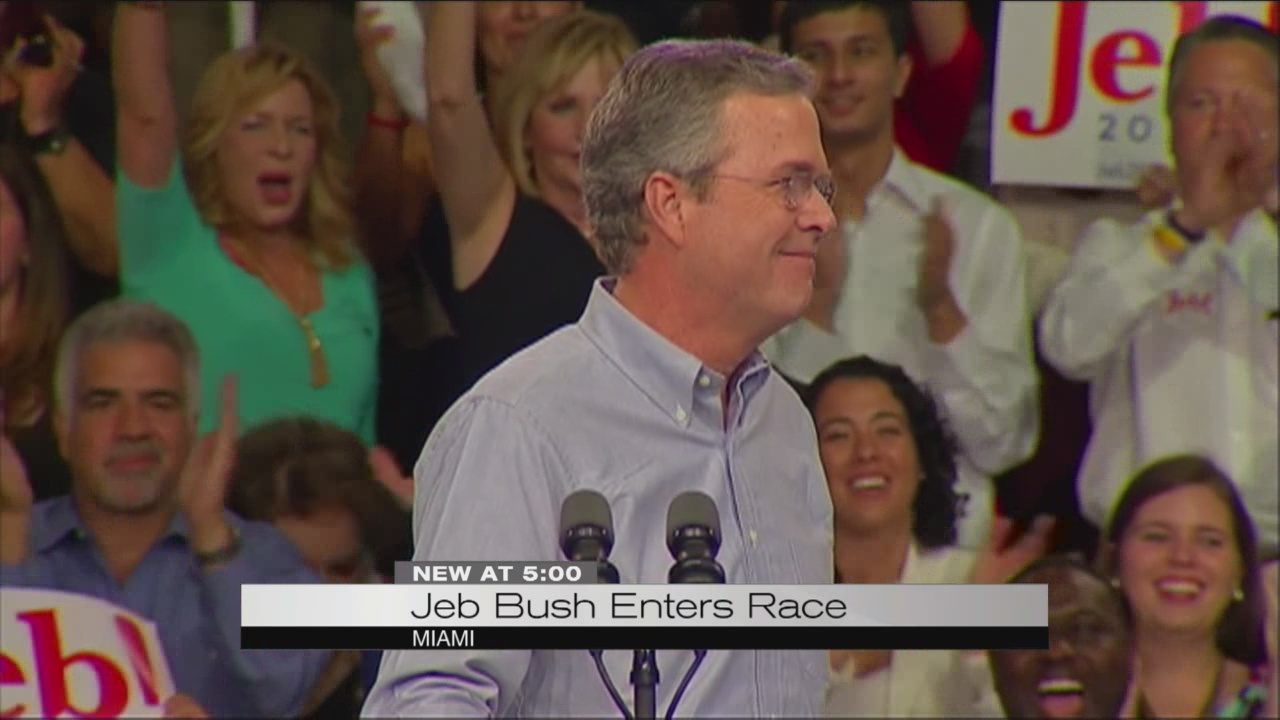 Jeb Bush announces bid for republican nomination_102342