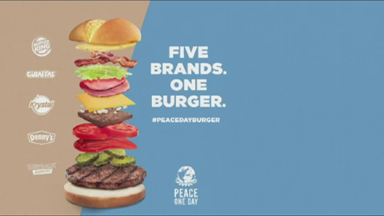International Peace Day Burger_120905