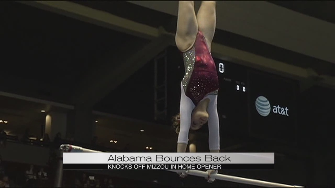 Alabama gymnastics vs. Missouri_145050