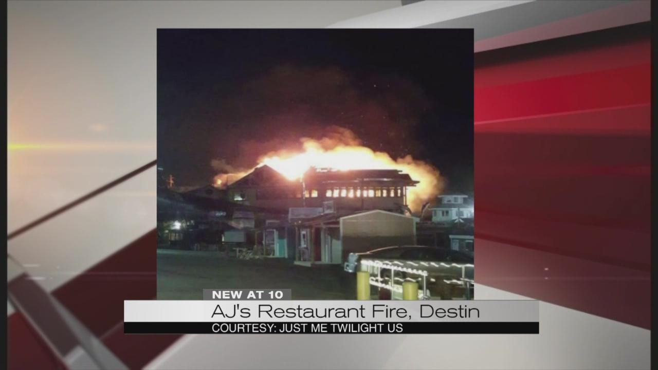 AJ's restaurant fire