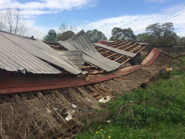tornado damage in pickens county_163657