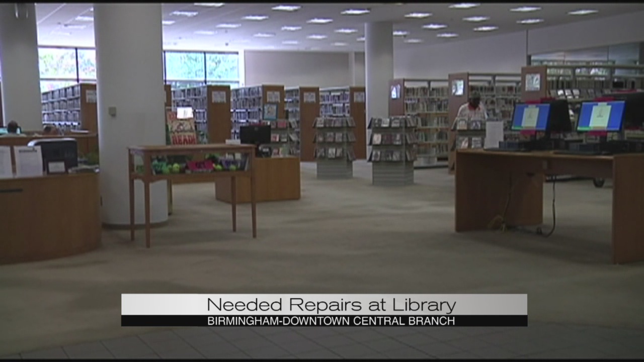 Needed repairs at library_183898