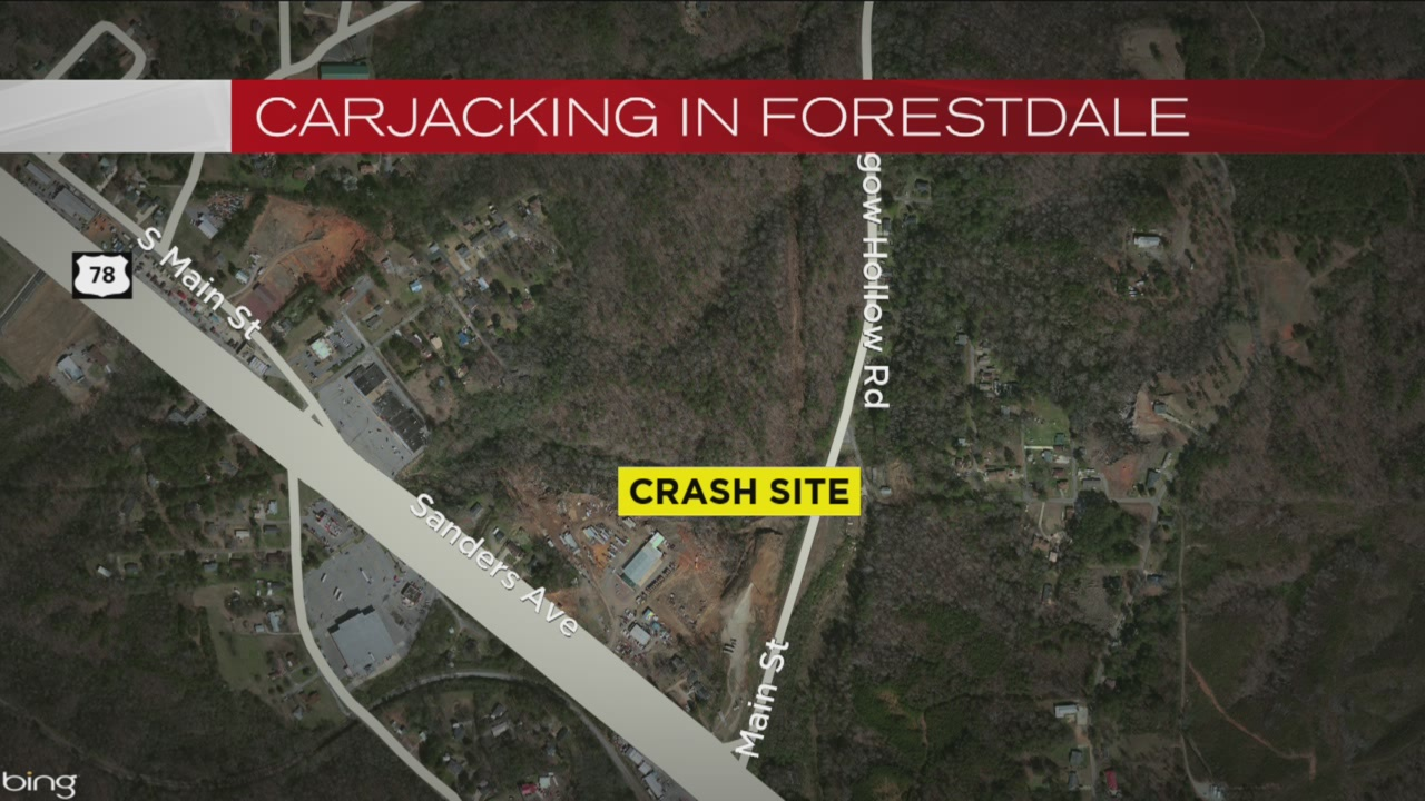 Carjacking in Forestdale