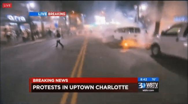 1 dead, 8 hurt, tear gas deployed in 2nd night of Charlotte