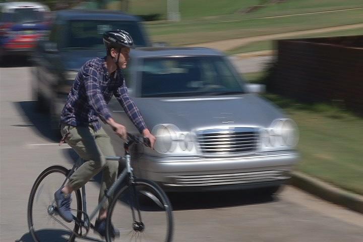bike cyclist car ua tuscaloosa bike rental_195920