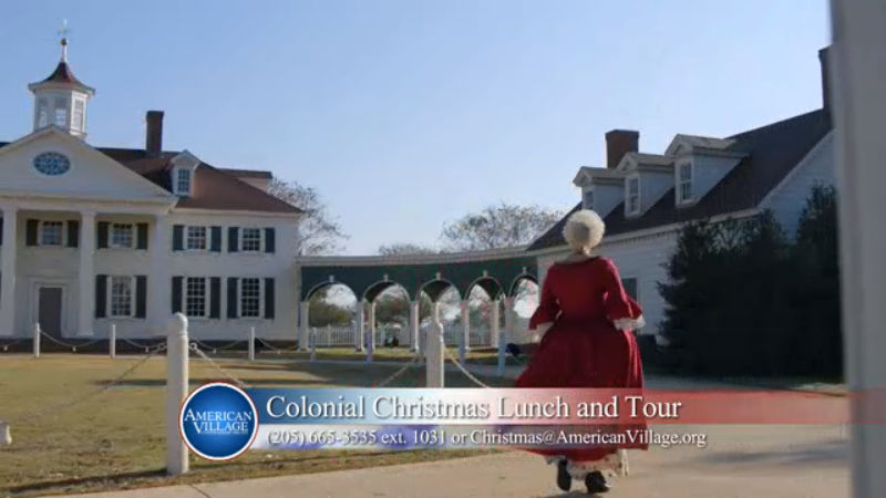 AMERICAN VILLAGE CHRISTMAS LUNCH AND TOUR TICKETS ON SALE NOW BIRMINGHAM ALABAMA THINGS TO DO_205759