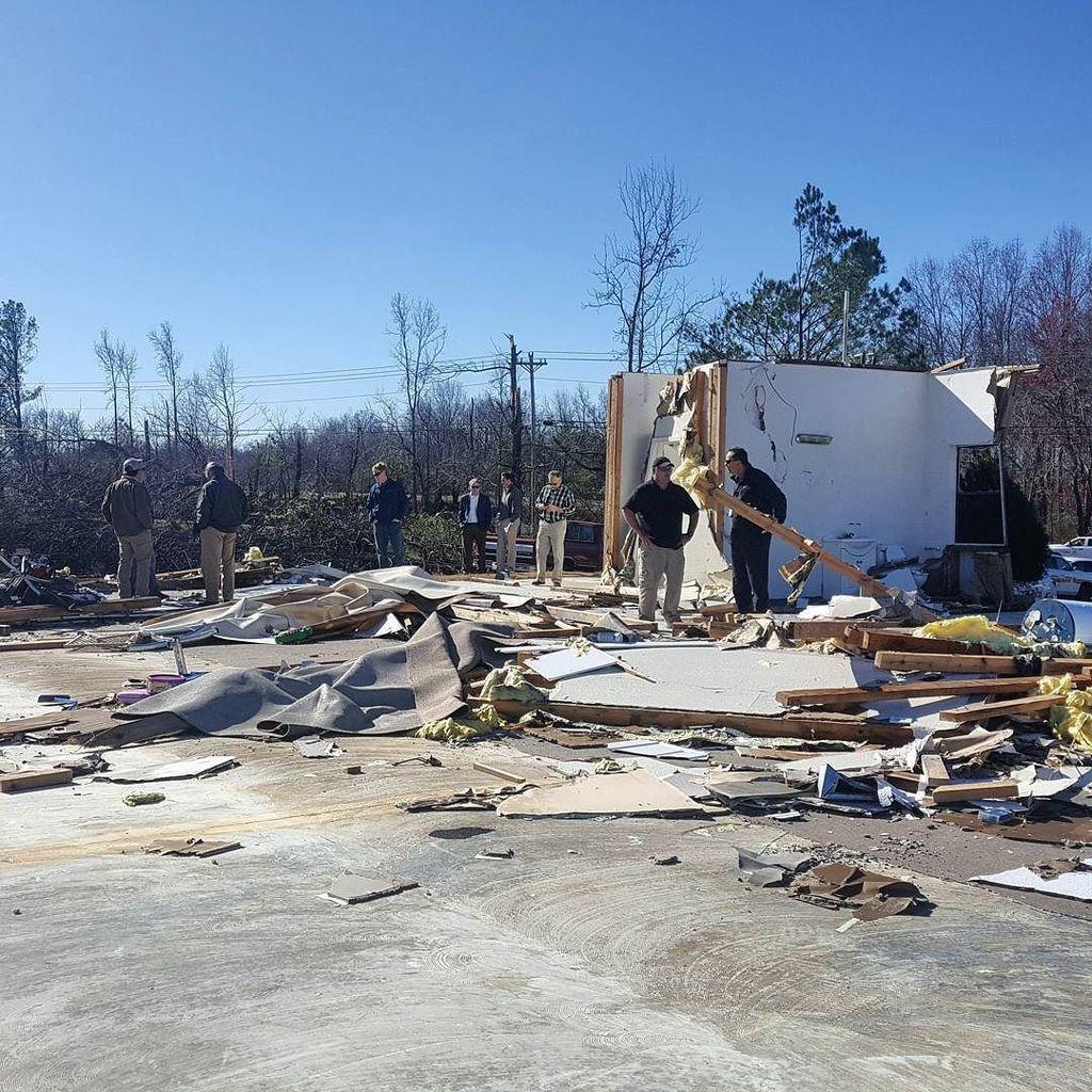 daycare damaged in Ider Alabama_209000