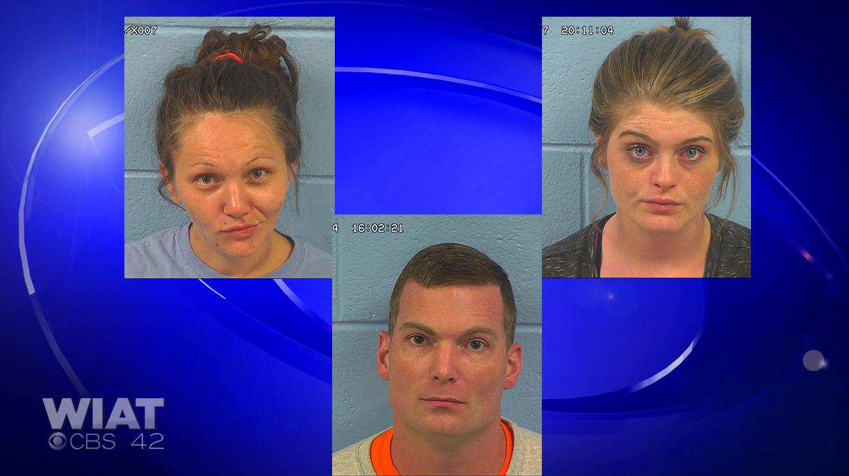 Etowah County Methamphetamine Candie Callahan Alexis Grubbs Derrick Christopher Ward_292155