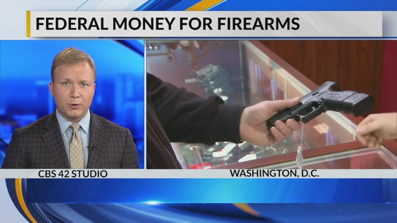 Federal money for firearms