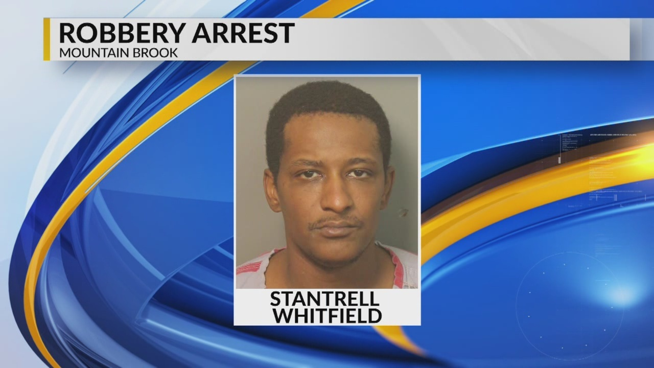 Suspect in Midfield robbery attack arrested in Mountain Brook robbery