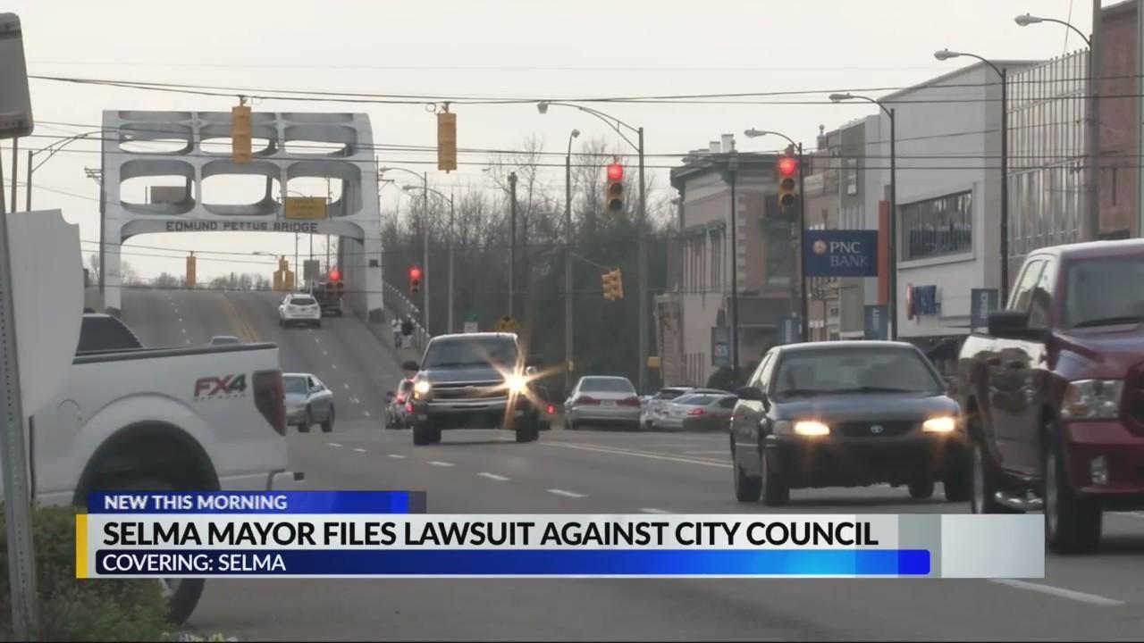 Selma Mayor Files Lawsuit