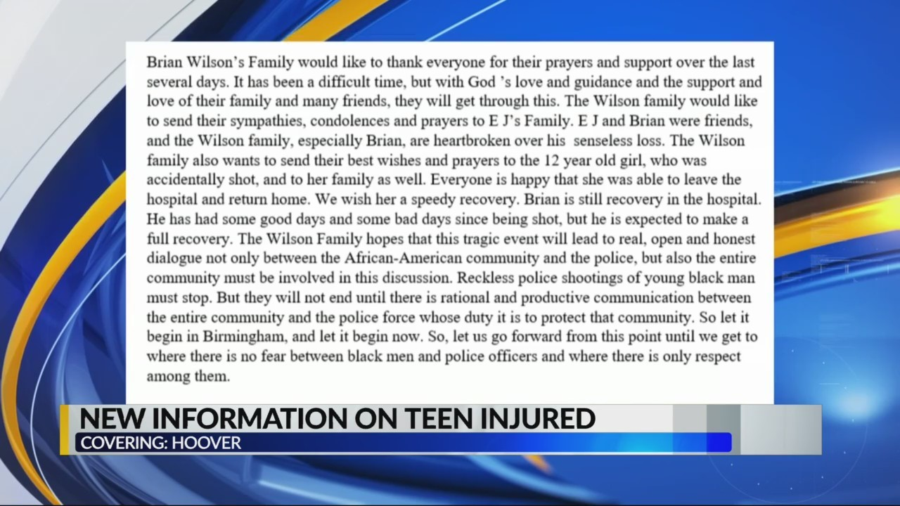 Family of 18-year-old shot speaks out