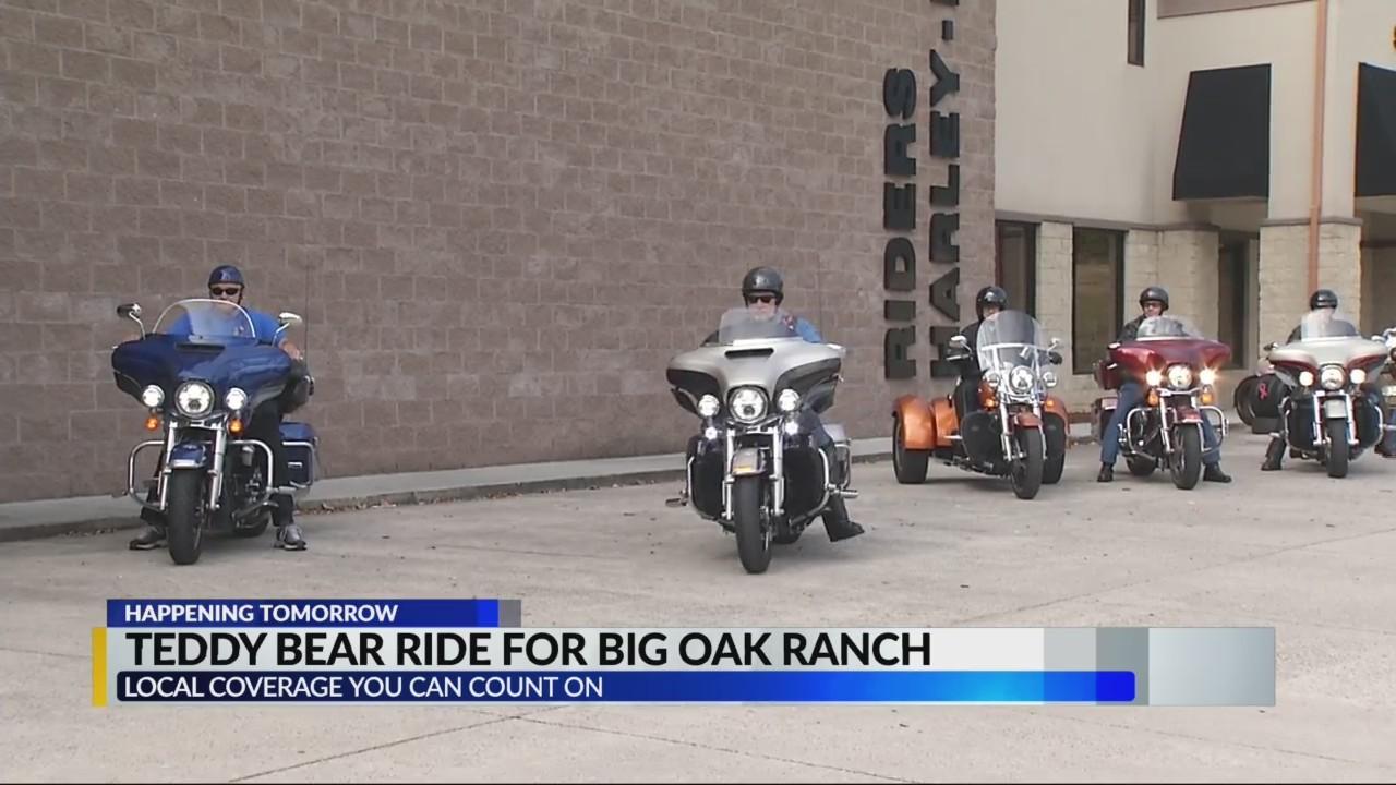 Teddy bear ride for Oak Ranch