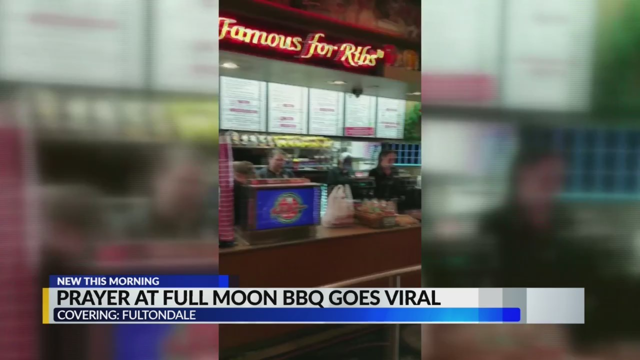 Moment of prayer caught on camera at Fultondale's Full Moon BBQ