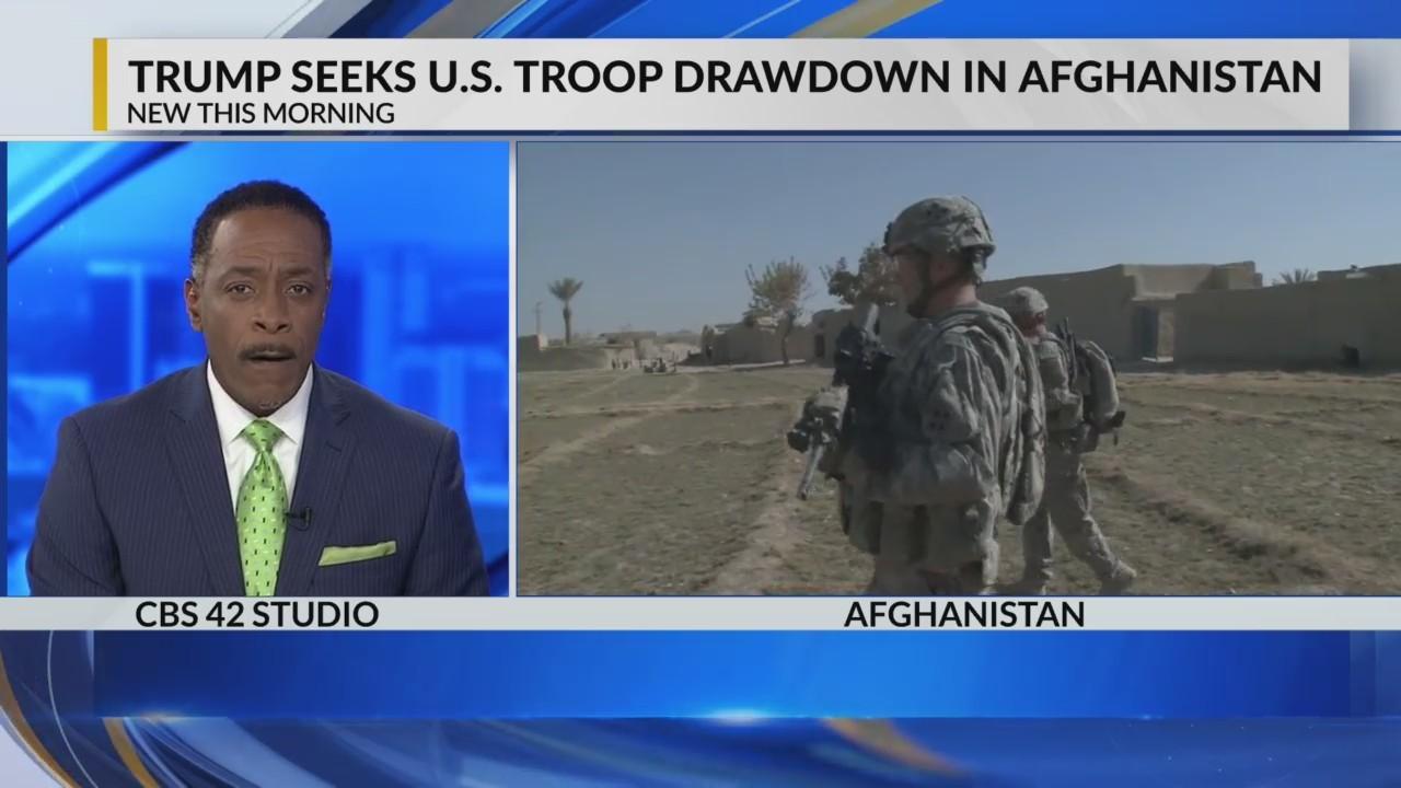 Trump seeks to reduce Afghanistan presence