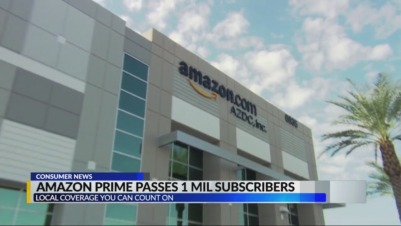 Amazon Prime hits new high in subscribers