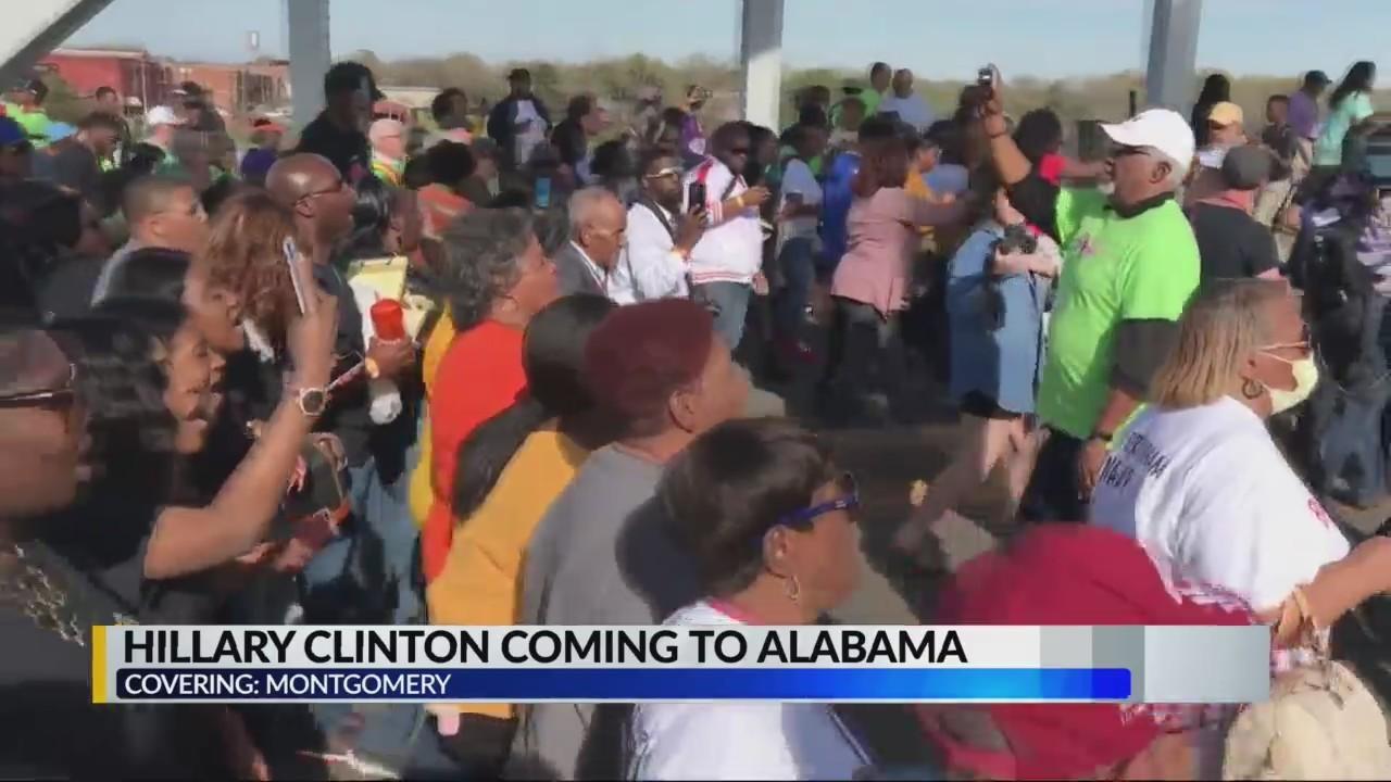 Hillary Clinton coming to Alabama