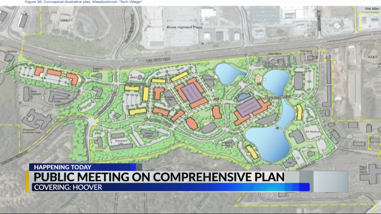Hoover Public Meeting on Comprehensive Plan