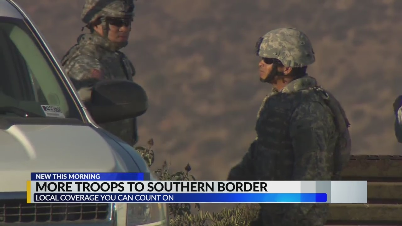 More troops to southern border