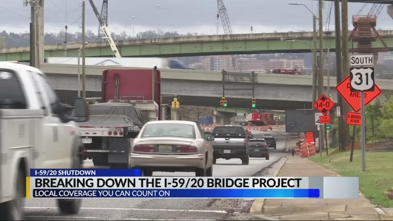 The I-59/20 closure: A look at driver options