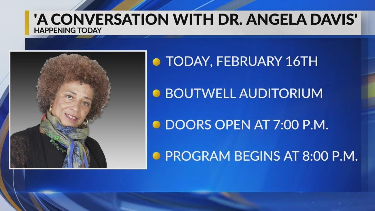 A Conversation with Dr. Angela Davis