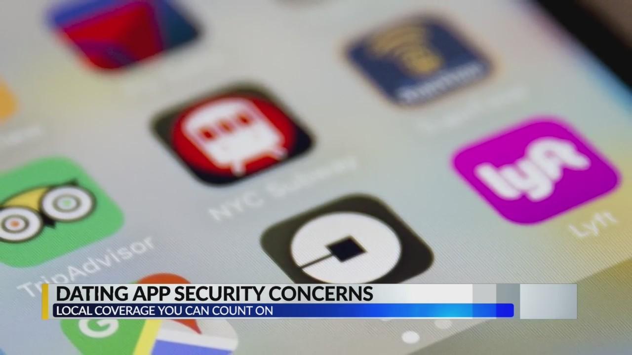 Dating app security concerns