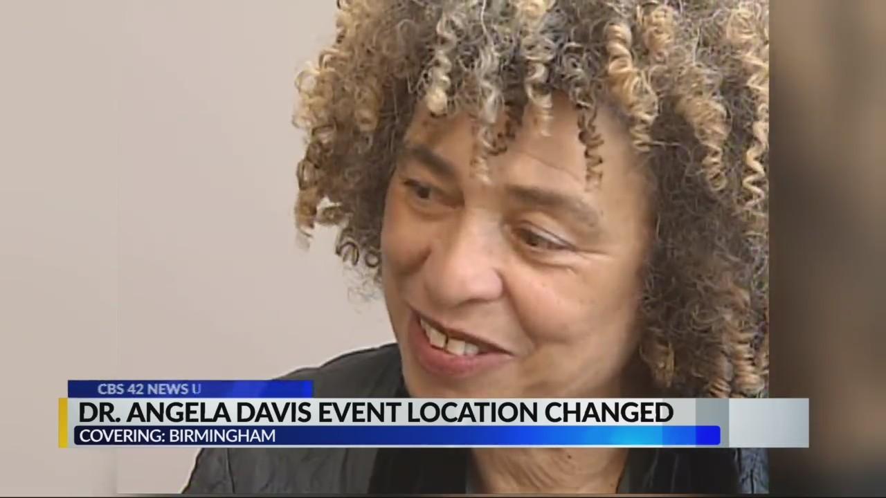 Dr. Angela Davis event location changed