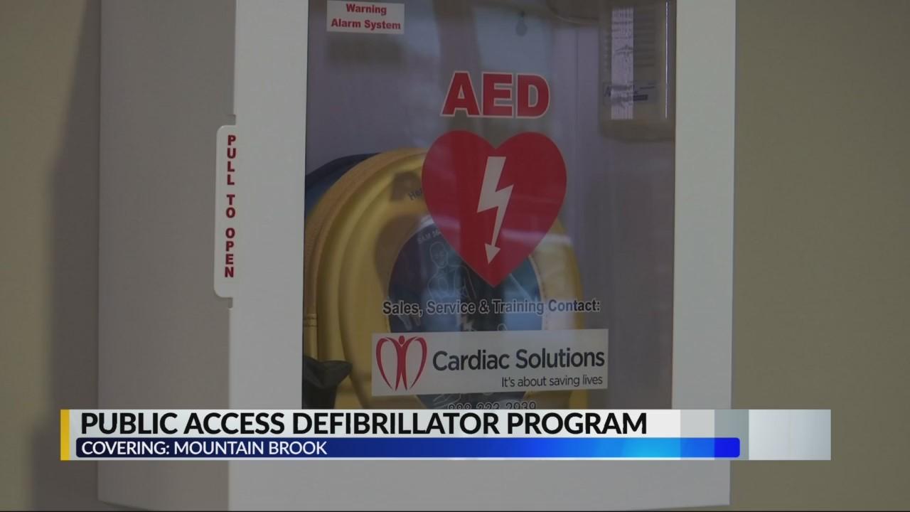 Public access defibrillator program