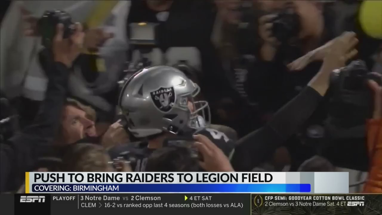 Push To Bring Raiders To Legion Field