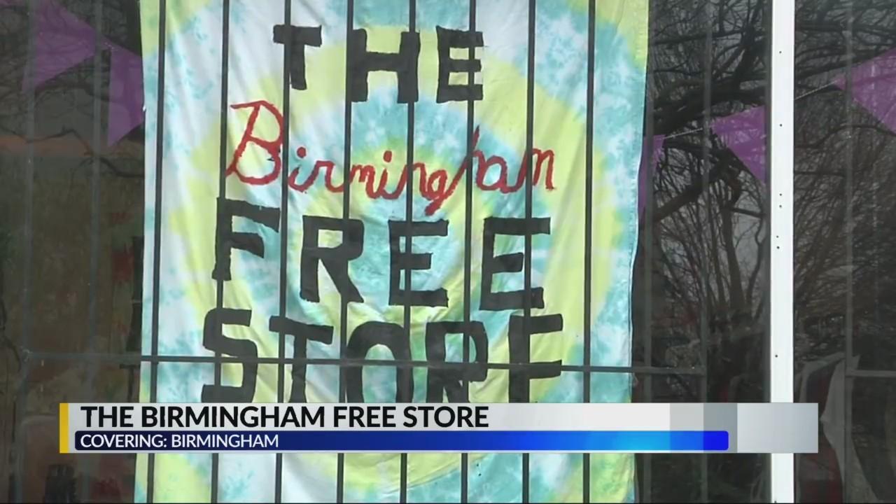 The Birmingham Free Store now open